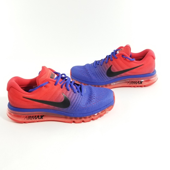 order nike air max 2017 red blue 18c3f 3e612